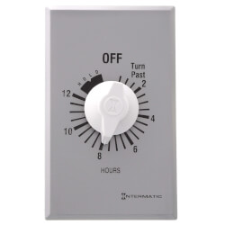 FF Series Commercial Auto-Off Timer, SPST with Hold (12 Hours) Product Image