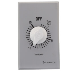 FF Series Commercial Auto-Off Timer, SPST (15 Minutes) Product Image