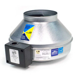 """FG Series Round Inline Exhaust Fan, 6"""" Duct<br>(303 CFM) Product Image"""