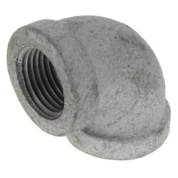"""1/2"""" Galv 90° Elbow Product Image"""