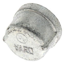 "1"" Galv Cap Product Image"