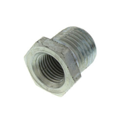 "3/8"" x 1/8"" Galv<br>Hexagon Bushing Product Image"