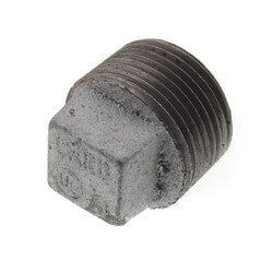 "1"" Galv Regular<br>Cored Plug Product Image"