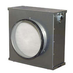 """12"""" Filter Cassette<br>with Pleated Filter Product Image"""