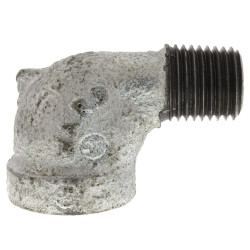 """1/4"""" Galv 90° Street Elbow Product Image"""