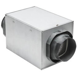 Fresh In Series Premium Aluminum Supply Fan (180 CFM) - Hardwired Product Image