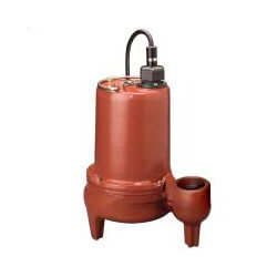 1/2 HP C.I. Manual Submersible Effluent Pump - 115V, 10' Cord Product Image