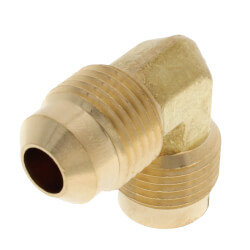 "3/8"" Brass Flare Elbow Product Image"