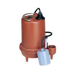 6/10 HP C.I. Auto Submersible Effluent Pump - 115v - 25' Cord Product Image