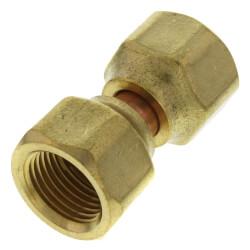 "3/8"" Brass Female Flare Swivel Product Image"