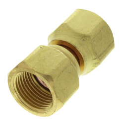 "1/2"" Brass Female Flare Swivel Product Image"