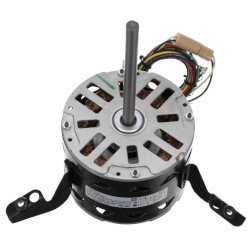 "5-5/8"" 3-Speed Fleximount Fan/Blower Motor (208-230V, 1075 RPM, 1/4 HP) Product Image"