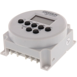 One Channel Electronic Time Switch, 15A, SPDT Panel Mounting (120-277V) Product Image