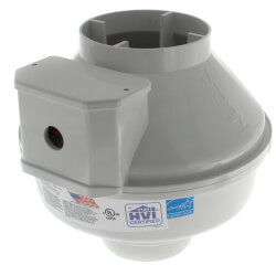 """FR Series Round Inline Exhaust Fan, 5"""" Duct<br>(148 CFM) Product Image"""