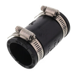 "1-1/4"" Rubber Coupling (Cast Iron or PVC to Cast Iron or PVC) Product Image"