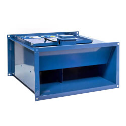 """FRD Series Rect. Inline Mixed Flow Centri. Fan<br>16"""" x 8"""" Duct (650 CFM) Product Image"""