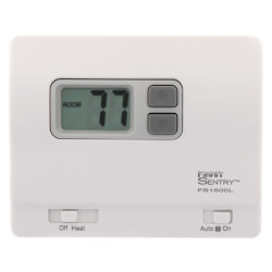 FS1500L Frost Sentry Garage Thermostat (Horizontal) Product Image