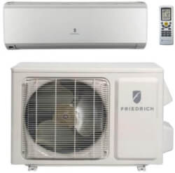 24,000 BTU Floating Air Select Wall Mounted Ductless 1 Zone AC/Heat Pump - Package Product Image