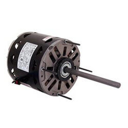 "5-5/8"" 3-Spd Fan/Blower Motor w/ Capacitor (115V, 1050 RPM, 1/8 HP) Product Image"