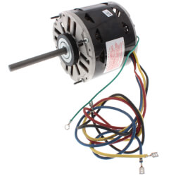 "5-5/8"" 3-Spd Fan/Blower Motor w/ Capacitor (115V, 1050 RPM, 1/5 HP) Product Image"