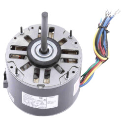 """5-5/8"""" 3-Spd Fan/Blower Motor w/ Capacitor (115V, 1050 RPM, 1/5 HP) Product Image"""