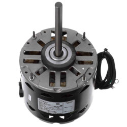 """5-5/8"""" 1-Spd Fan/Blower Motor w/ Capacitor (115V, 1050 RPM, 1/4 HP) Product Image"""