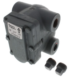 "3/4"" H-Pattern Float & Thermostatic Steam Trap (15 PSIG) Product Image"