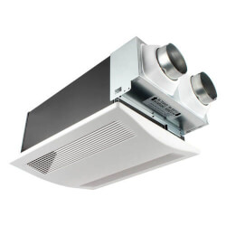 WhisperComfort 40/20 or 20/10 CFM Ceiling Spot Energy Recov. Ventilator Product Image