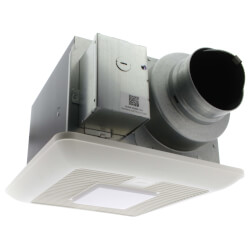 WhisperGreen Select Ceiling Ventilation Fan + LED Light (50-80-110 CFM) Product Image