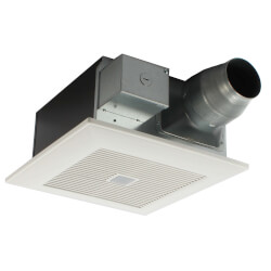 WhisperFit EZ Dual Speed Ventilation Fan w/ Motion Sensor, 80 or 110 CFM Product Image
