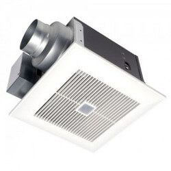 WhisperSense DC 50/80/110 CFM Ceiling Mounted Fan w/ Dual Motion & Humidity Sensor Product Image