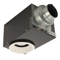 WhisperRecessed LED Ventilation Fan-Light, 0.8/1.0 Sone (80/66 CFM) Product Image