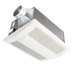 WhisperWarm 110 CFM Ceiling Vent Fan<br>w/ Heater & Light Product Image