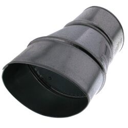 "WhisperValue 4"" Oval to 3"" Round Duct Adapter Product Image"