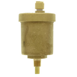 "1/8"" NPT Goldtop<br>Universal Air Vent Heating/Cooling Systems Product Image"