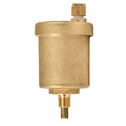 """1/8"""" NPT Goldtop<br>Universal Air Vent Heating/Cooling Systems Product Image"""