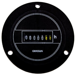 60Hz Flush-Panel Mount AC Hour Meter (120V) Product Image