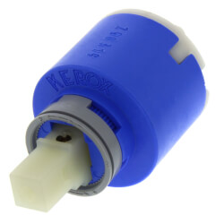 Single Handle Ceramic Cartridge w/ Temp Limit Stop (92-298) Product Image