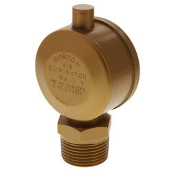 "Gorton No. 1<br>3/4"" x 1/2"" Air Eliminator<br>(Main Vent Valve) Product Image"