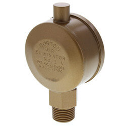 "Gorton No. 1<br>3/8"" Air Eliminator<br>(Main Vent Valve) Product Image"