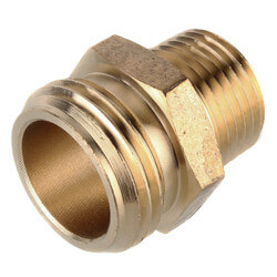 image loading elbow adapter itm hose brass extender s garden is connector solid degree