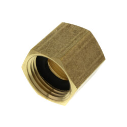 """3/4"""" FHT x 3/4"""" Female Pipe Brass Garden Hose Adapter (83GH) Product Image"""