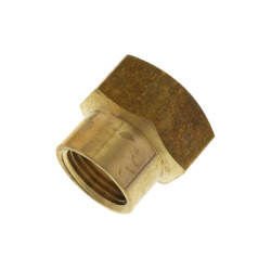 "3/4"" x 1/2"" Garden Hose Adapter, (Brass Female Hose to Female Pipe) Product Image"