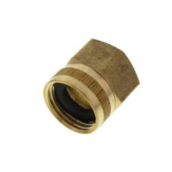 "3/4"" Female Hose x 3/4"" Female Pipe Brass Garden Hose Swivel (LF) Product Image"