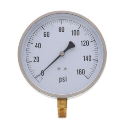 "4.5"" PCT Contractor Pressure Gauge<br>(0-160 PSI) Product Image"