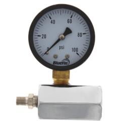 "2"" PET Economy Gas Test Pressure Gauge (0-100 PSI) Product Image"