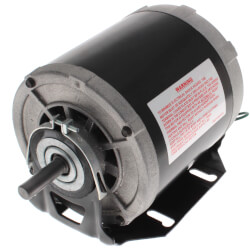 """5-5/8"""" Sleeve Bearing Motor w/ Open Enclosure (115V, 1725 RPM, 1/4 HP) Product Image"""