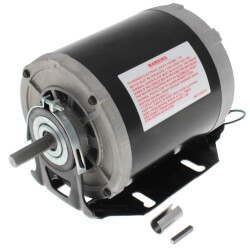 """5-5/8"""" Sleeve Bearing Motor w/ Open Enclosure (115V, 1725 RPM, 1/3 HP) Product Image"""