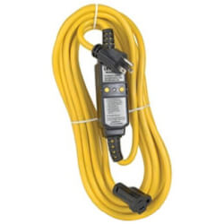 25' Cord Set w/ Molded-On NEMA Plug & Connector, 15A, 120V Product Image