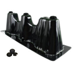"23"" x 7"" Goliath Furnace<br>Risers w/ Vibration<br>Isolators Product Image"